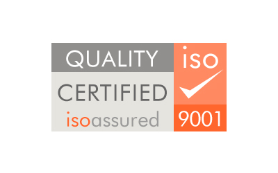 ISO 9001 Quality Assured Certification