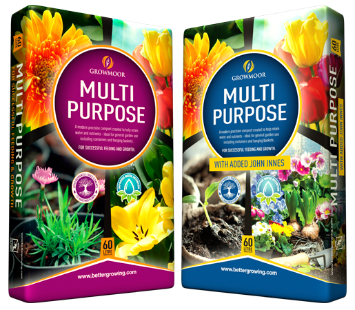 Multi Purpose and Multi-Purpose with added John Innes Compost