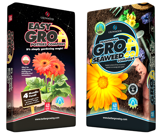 Easy Gro Potters Compost and GroPlus Seaweed60 Compost